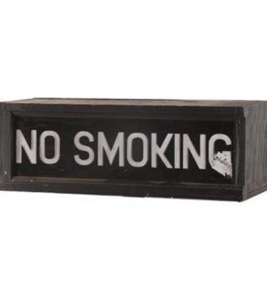 No Smoking Lightbox 200X585X180