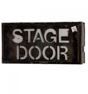 Stage Door Lightbox 310X620X190