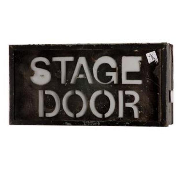 Stage Door Lightbox 310X620X190