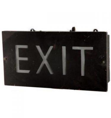 Exit Lightbox 240X480X120