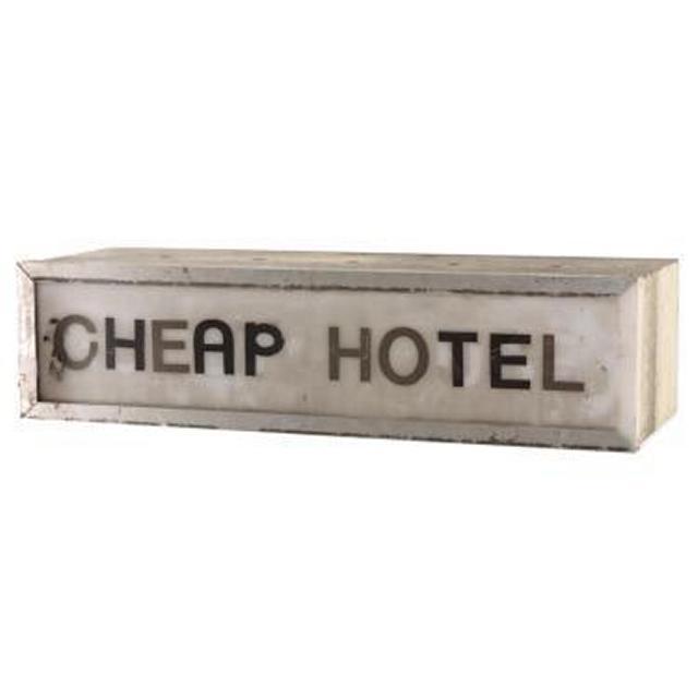 Cheap Hotel Lightbox 160X620X215