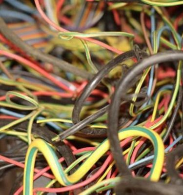 Electric Wires  Lots Of