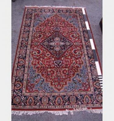 Red And Blue Turkish Rug 2745X1830Mm