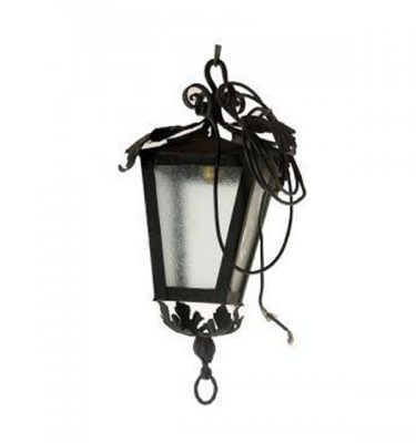 Carriage Lamp With Leaf Detail  500X300X300