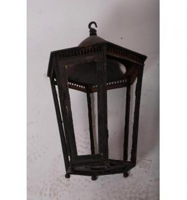 Lantern 6 Sided Hanging               330High