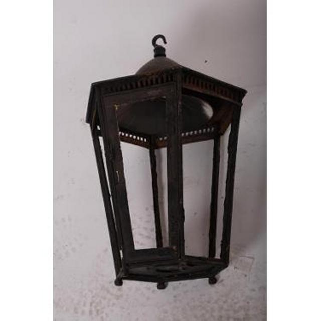 Lantern 6 Sided Hanging               330High