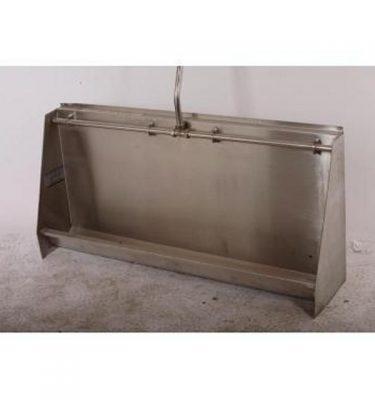 Wall Urinal S/S Trough 600X1200X280