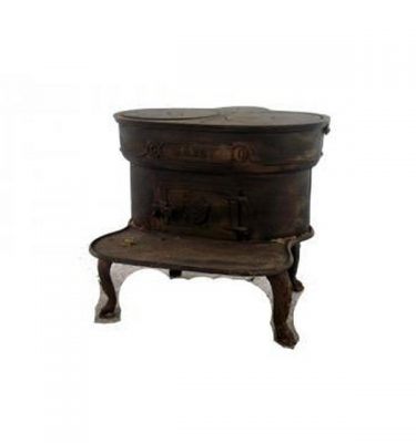 Stove Cast Iron 470X530X530