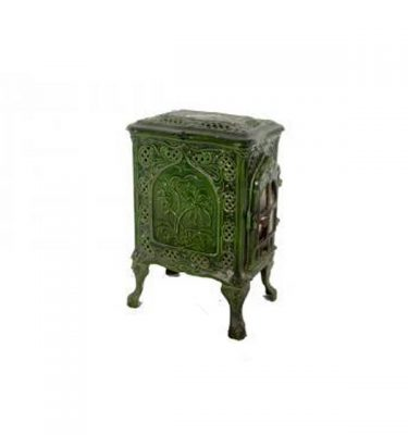 Stove French Green Enamel 620X420X300