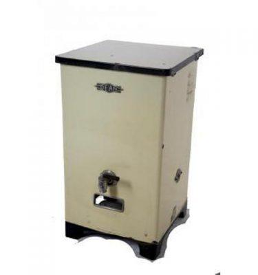 Cream Enamel Boiler 1930S 760X450X450
