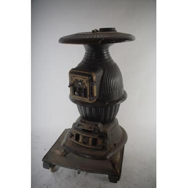American  Pot Belly Stove  1900S[No 22] 1270X680D