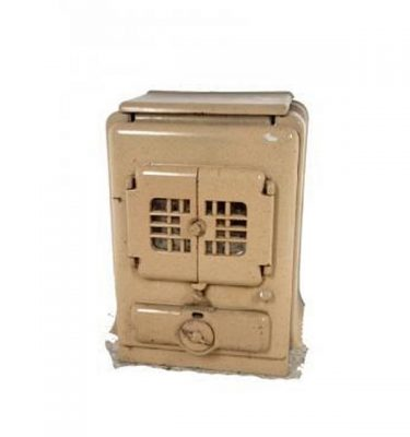 Wood Burner 1930'S Stove X 2 Off 680X500X300