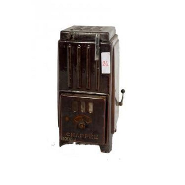 Brown Deco  French Enamel Stove 562X250X270