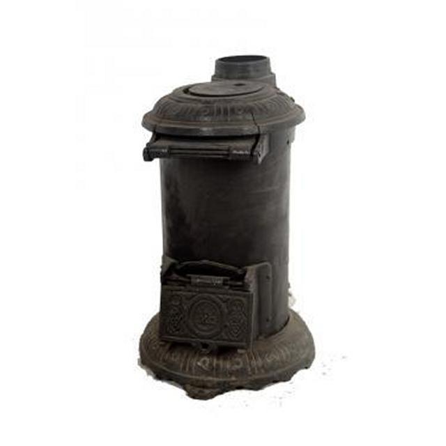 Pot Belly Wood Burner Stove 530X390X230