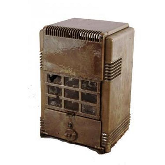 1930S Wood Burner Stove 600X390X390