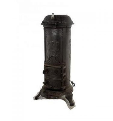 Pot Belly Wood Burner Stove 860X380X340