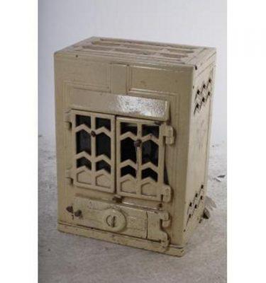 Art Deco Wood Burning Stove X 2Off 670X440X330