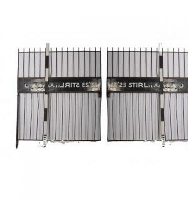 Large Warehouse Gates  X 2 Off                             1940X 2140H Each