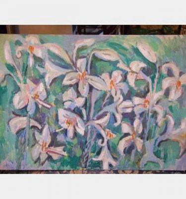 Painting  Lillies 900X630