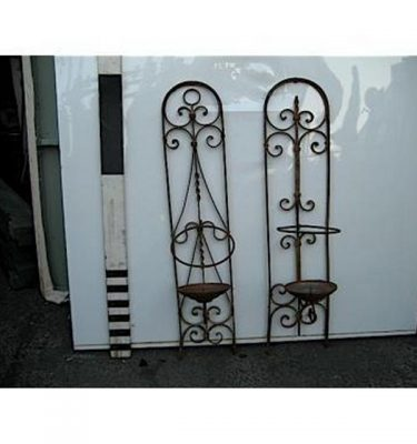 Candle Holder Decorative Wall Mounted Panels X2