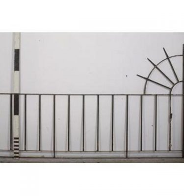 Railing Wall End Detail Semi Circular                               1625X2700