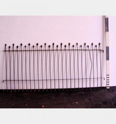 Iron Railing Flat Arrow Design X2  2140X1000