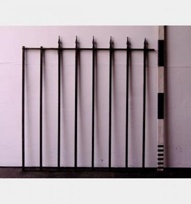 Iron Quadrant Railing Arrow Head X7  1500X1560