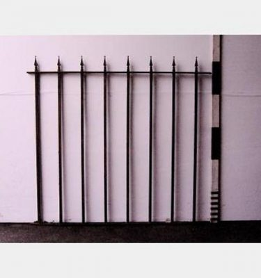 Iron Quadrant Railing Arrow Head X6  1650X1560