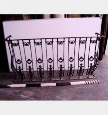 Iron Railing Balcony X 2 Off 1800 Wide 300 Return
