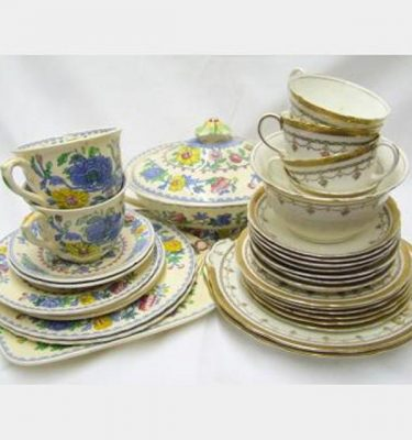 Matching Crockery