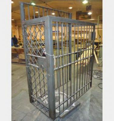 Child Cage H2060 X W755 X D540 3 Sides And Top Bolt To Wall