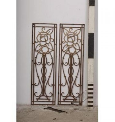 Deco Panels  Flower Motif  Decorative X 2Off 1005X300