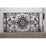 Railing Cast Iron Heavy Decorative X 2Off        945X1845