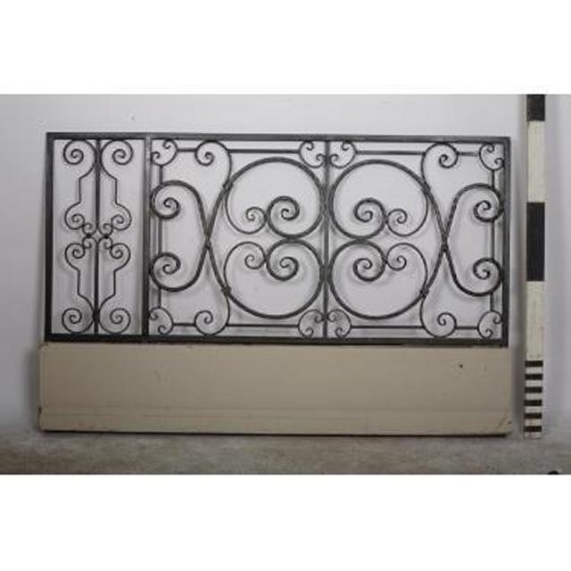 Handrail Panel Decorative X 2Off                  1160X1810
