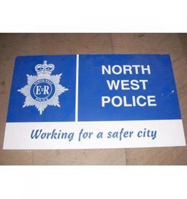 North West Police Sign