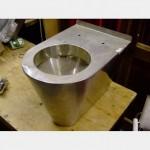 Stainless Steel Prison Toilet