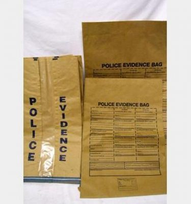 Paper Police Evidence Bags  Assorted Sizes