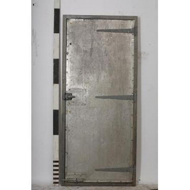 0780026 Sheet Metal Prison Door With Timber Frame 2060X900  sc 1 st  Stockyard Prop and Backdrop Hire & 0780026 Sheet Metal Prison Door With Timber Frame 2060X900 ...