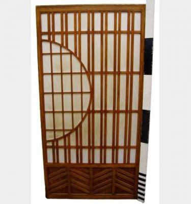Sliding Doors With Half Moon Design X5 1800Hx920Mm