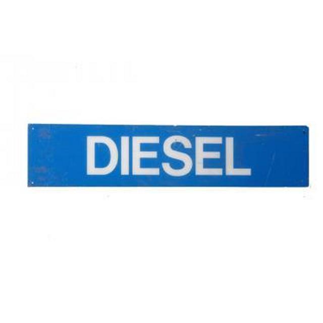 Garage Diesel Perspex Signage
