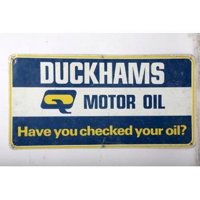 Garage Duckhams  Metal Signage 500X1000
