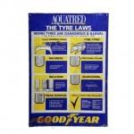Garage Goodyear Metal Signage 800X550