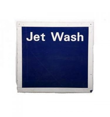 Garage Jet Wash Metal Signage 615X650