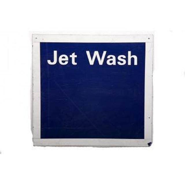 Garage Jet Wash Metal Signage 615X650