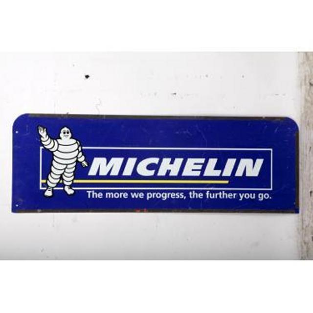 Garage Michelin   Metal Signage 350X1040