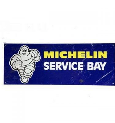 Garage Michelin Service Bay    Metal Signage 240X640