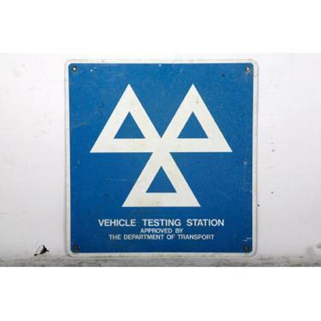 Garage Mot Metal Signage X2 625X600