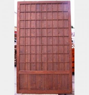 Plain Wood Sliding Doors X8 2340X1280Mm
