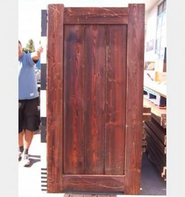 Plain Timber Door X11   2190X1100Mm