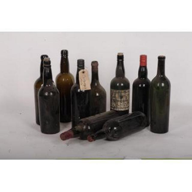 Period Wine Bottles